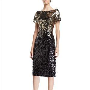 Gorgeous sequins ombré dress